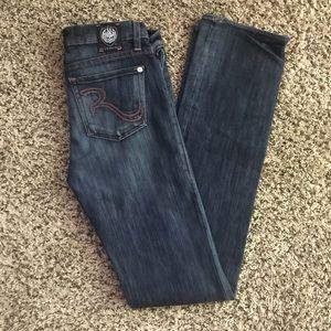 Rock &Republic dark wash jeans